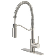 Boston Harbor FP4A0096NP Faucet Ktn Spring Pull-Dn Ss
