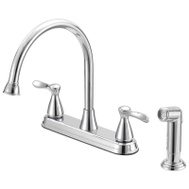 Boston Harbor F8210001CP Faucet Ktn 2-Handle Chrome 8In