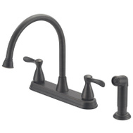 Boston Harbor F8210001RW Faucet Ktn 2-Hndl Vene Brz 8In