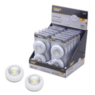 Power Zone F12004 Light Puck Led Wireless Set