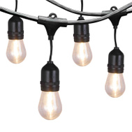 Power Zone YJ-E26 Lights String Led Outdoor 24Ft