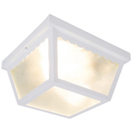 Boston Harbor 991-070082WH Porch Light Ceiling Wht 2-Bulb