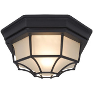 Boston Harbor GX3902L Porch Light Ceiling Blk