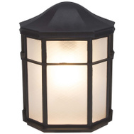 Boston Harbor GX3225 Porch Light Wall Blk