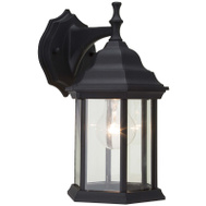Boston Harbor LOL336BK Porch Lantern Wall Black