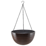 Landscapers Select PT-S075 Resin Hanging Planter Red 16 Inch