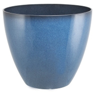 Landscapers Select PT-S080 Resin Planter Blue 15In