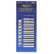 Vulcan TS1008 Socket Deep Sets 8 Piece Fractional 3/8 Inch Drive 6 Point
