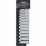Vulcan TS1012MD Socket Deep Sets 12 Piece Metric 3/8 Inch Drive