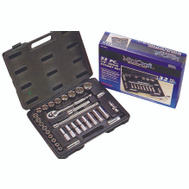 Vulcan TS1032 Socket Wrench Set 32 Piece Fractional 1/2 Inch Maxi Drive