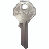 ProSource KB50-B Key Blanks To Fit Mintcraft Brass Padlocks 2 Inch And 2-1/2 Inch