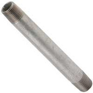 WorldWide Sourcing 3/8X12G 3/8 By 12 Inch Galvanized Standard Pipe Nipple