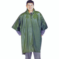 DiamondBack 2690 52 By 80 Inch Reversible Olive Yellow Pvc Poncho