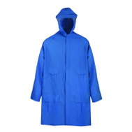 DiamondBack 8156GRBXX Pvc Poly Blue Rain Parka Xx Large
