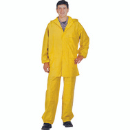DiamondBack 8127-LG 2 Piece Yellow Rainsuit Large