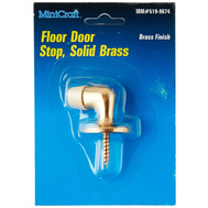 ProSource H6271016 Mintcraft Heavy Duty Solid Brass Floor Mount Door Stop Brass Finish