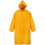 DiamondBack PY-800XL Yellow Raincoat With Hood Extra Large