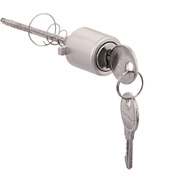 ProSource JF06159 Mintcraft Aluminum Round Push Button Key Lock Plug