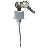ProSource JF06160 Mintcraft Aluminum Rectangular Push Button Key Plug Lock