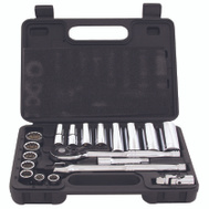 Vulcan TS1020-M Socket Wrench Sets 20 Piece Metric 3/8 Inch Maxi Drive