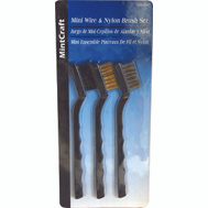ProSource C 30300 Detail Brush Set Assorted Bristle 3 Piece