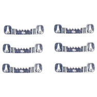 Mintcraft PH-121126 Builders' Hardware Push In Self Leveling Picture Hangers Pack Of 6
