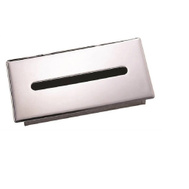 Mintcraft L1010-26 Commercial Bright Chrome Recessed Facial Tissue Holder