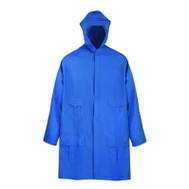 DiamondBack 8156-L Rain Coat, Large Blue
