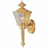 Boston Harbor 4003H2 1 Light Small Coach Lantern Polished Brass