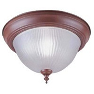 Boston Harbor RF04 1 Light Sienna Flush Ceiling Fixture