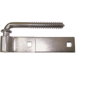 ProSource LR087 Mintcraft 6 Inch Steel Screw Hook And Strap Hinge Zinc Plated
