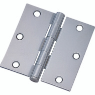 ProSource 20338BCX Door Hinge 3-1/2 Inch Square Corner Bright Chrome