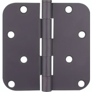 ProSource 20348ORX Door Hinge 4 Inch 5/8 Inch Radius Oil Rubbed Bronze