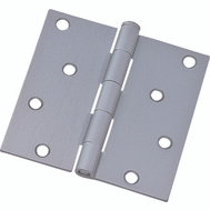 ProSource 20339SCX Door Hinge 4 Inch Square Corner Satin Chrome