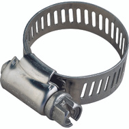 ProSource HCRAN24 Hose Clamp Stainless Steel With Carbon Steel Screw 1/2 Inch Band By 1-1/16 To 2 Inch Number 24
