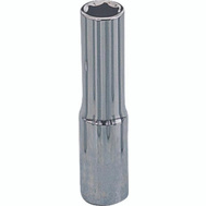 Vulcan MT6487810 Socket Deep 1/4 Inch Drive 6 Point 12 Mm