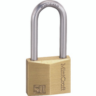 ProSource HD-250DLS Brass Padlock 2 Inch Wide