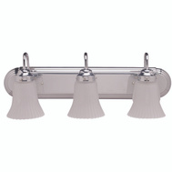 Boston Harbor RF-V-028-CH 3 Light Chrome Vanity Fixture