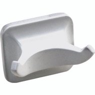 Boston Harbor L3653-51-07 Manhattan Double Robe Hook White