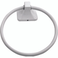Boston Harbor L3660-51-07 Manhattan Towel Ring White