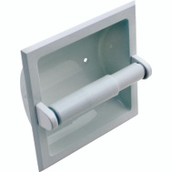 Boston Harbor L776H-51-07 Manhattan Recessed Toilet Paper Holder White