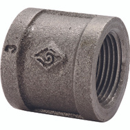 WorldWide Sourcing B220 8 1/4 Inch Black Pipe Coupling