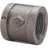 WorldWide Sourcing B220 6 1/8 Inch Black Pipe Coupling