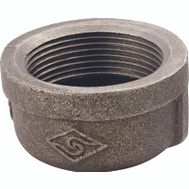 WorldWide Sourcing B300 40 1-1/2 Inch Black Pipe Cap