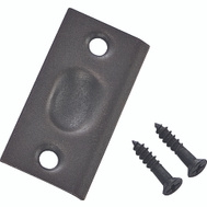 ProSource CB-S03ORB Mintcraft Square Corner Solid Brass Strike Plate Oil Rubbed Bronze