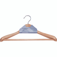 Simple Spaces HEA00046G-N Hanger Suit Wd Natural Premium