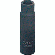 Vulcan MT6580112 7/16 Inch By 3/8 Drive 6 Point Impact Socket
