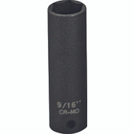 Vulcan MT6580114 9/16 Inch By 3/8 Drive 6 Point Impact Socket