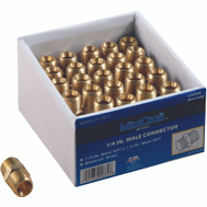 ProSource ATA-050 1/4 Inch Male Brass Connector