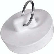 WorldWide Sourcing PMB-104 1 1/2 Inch White Rubber Sink Stopper